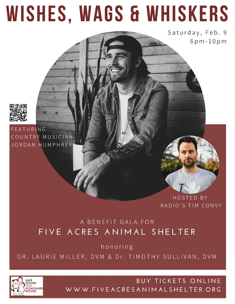 Upcoming Five Acres Events Five Acres Animal Shelter